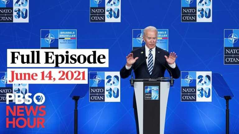 PBS NewsHour West live episode, June 14, 2021
