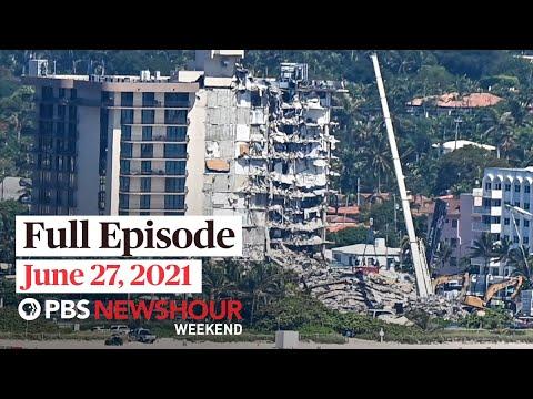 PBS NewsHour Weekend Full Episode June 27, 2021