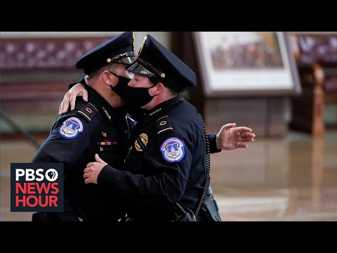 U.S. Capitol Police officer gives firsthand account of Jan. 6 attack
