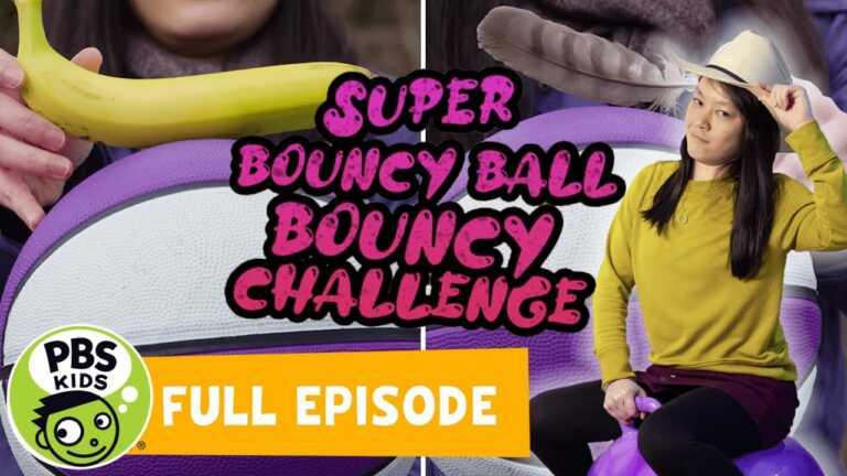 Mega Wow | Super Bouncy Ball Challenge! | PBS KIDS