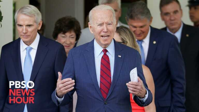 WATCH LIVE: Biden delivers remarks on the bipartisan infrastructure deal