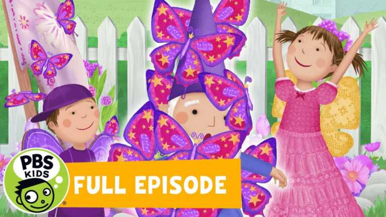 Pinkalicious & Peterrific FULL EPISODE | Butterfly Garden Party / Animal Dance | PBS KIDS