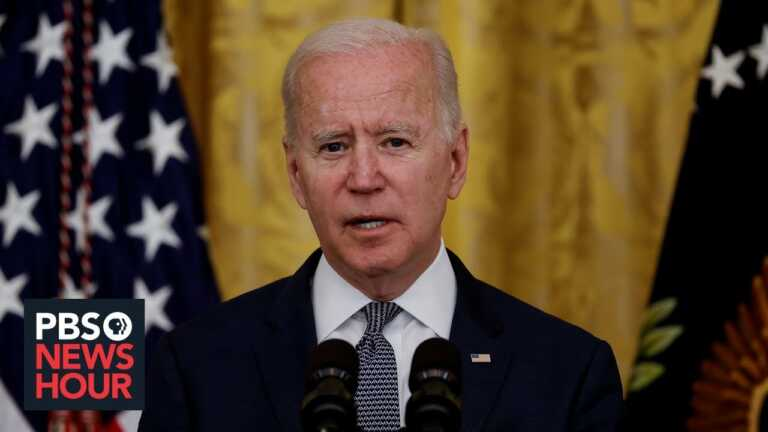 WATCH LIVE: Biden to announce 300 million COVID-19 shots given in 150 days