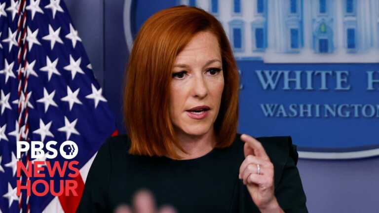 WATCH LIVE: Psaki offers White House press briefing