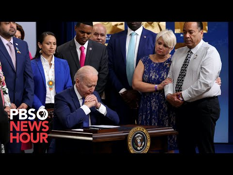 WATCH: Biden signs bill memorializing Pulse nightclub victims