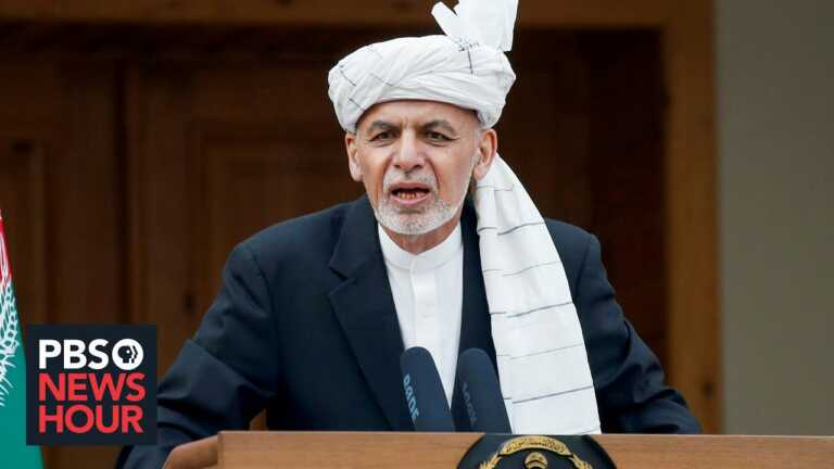 Afghanistan 'ready' for Taliban violence after US withdrawal, Afghan president says