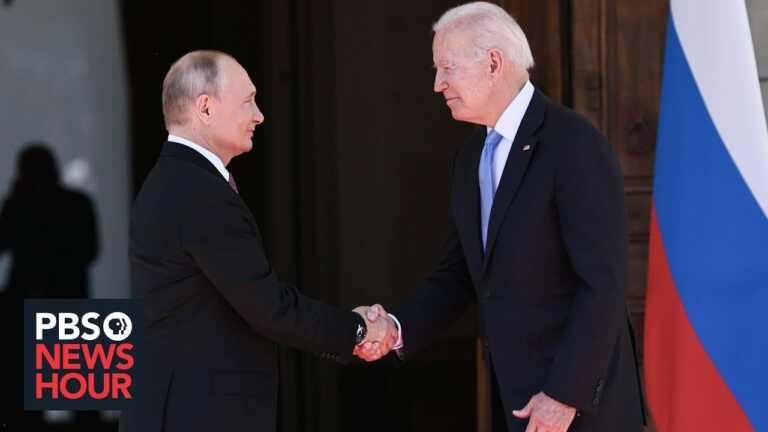 News Wrap: Putin praises Biden as 'professional,' emphasizes cybersecurity cooperation