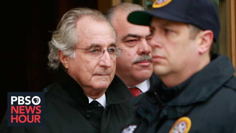 The rise and fall of ponzi scheme mastermind Bernie Madoff