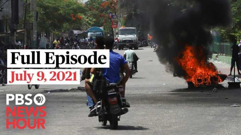 PBS NewsHour West live episode, July 9, 2021