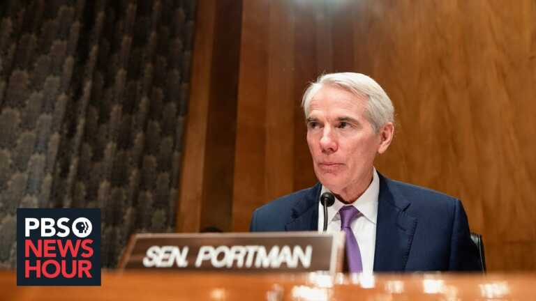 Sen. Portman on Liz Cheney, infrastructure plans, and taxing the wealthy