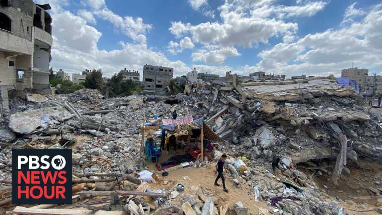 Rebuilding begins in Gaza amid dire conditions in the wake of war with Israel