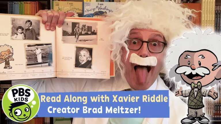 Xavier Riddle READ ALONG   I am Albert Einstein   PBS KIDS