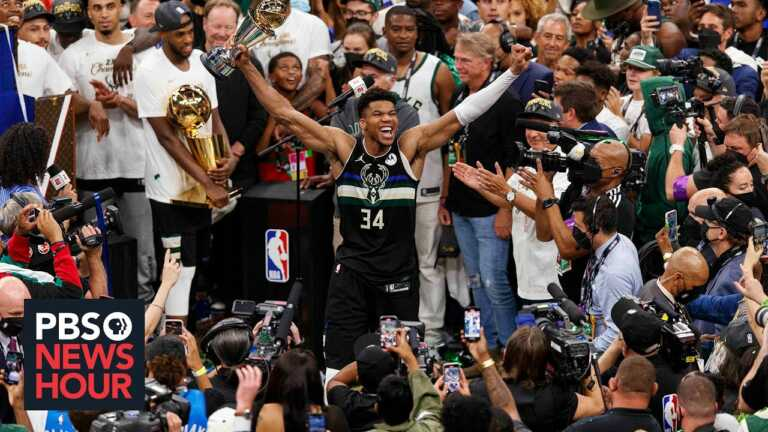 A look at 'Greek Freak' Giannis Antetokounmpo's journey from hardships to hero