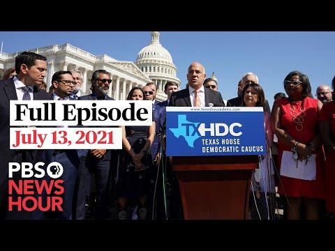 PBS NewsHour full episode, July 13, 2021