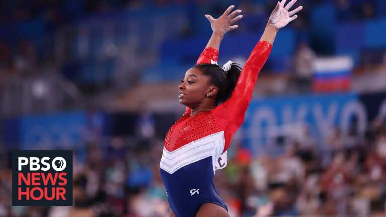 The 'insurmountable' weight of expectations on Simone Biles, other professional athletes