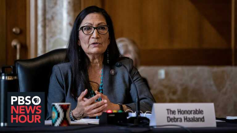 Sec. Haaland on healing from the indoctrination, dehumanization at Indian boarding schools