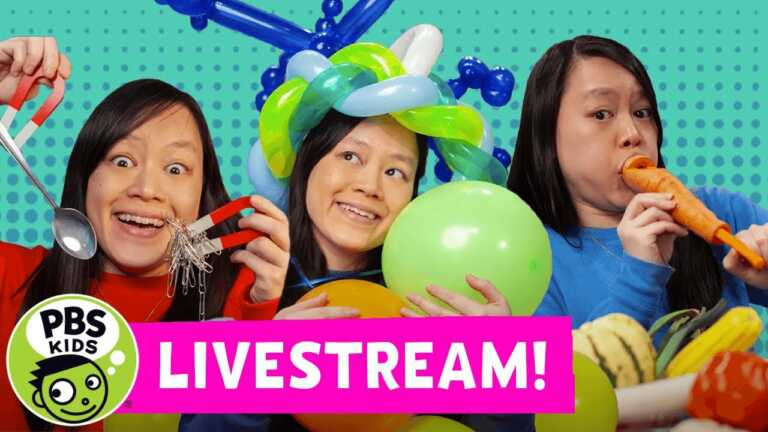 Mega Wow LIVE | Fun Science Experiments for Kids! | PBS KIDS