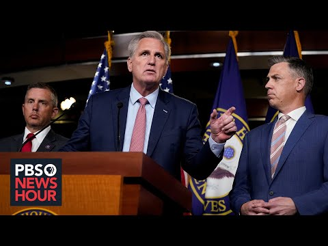 WATCH:McCarthy says GOP won't participate in Jan. 6 committee if Dems won't accept appointed members