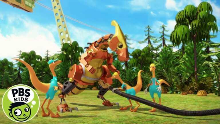 Dinosaur Train   Where Do Robot Dinosaurs Get Their Power From?   PBS KIDS