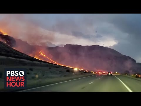 Oregon bootleg fire, nation's largest, keeps doubling in size