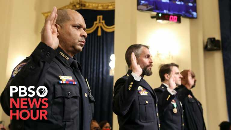 WATCH: The full statements of all four officers testifying at the Jan. 6 Select Committee hearing