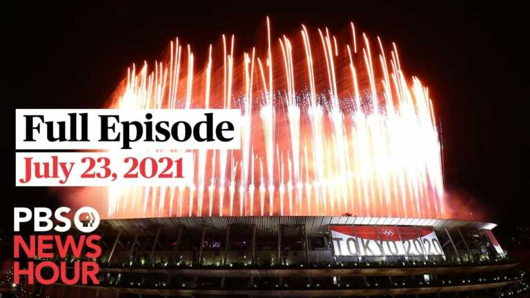 PBS NewsHour West live episode, July 23, 2021