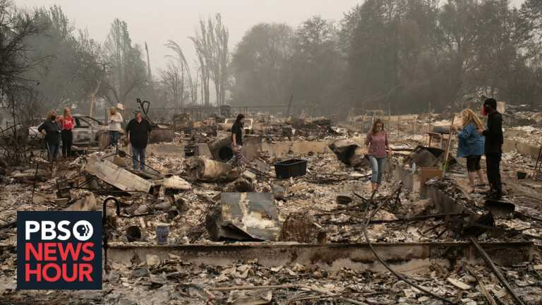 Americans who lost homes to devastating wildfires brace for an even worse season