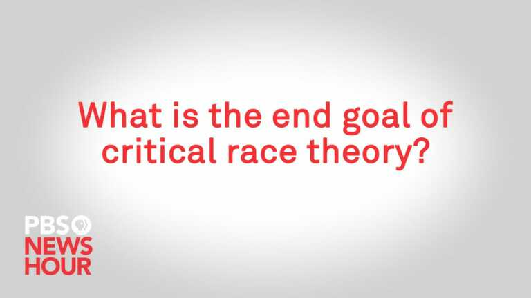WATCH: What is the end goal of critical race theory?