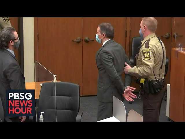 How the Chauvin verdict could become a 'defining moment' for future policing