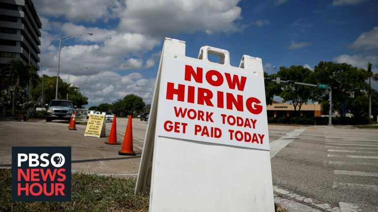News Wrap: U.S. economy shows signs of rebound with 850,000 jobs added in June