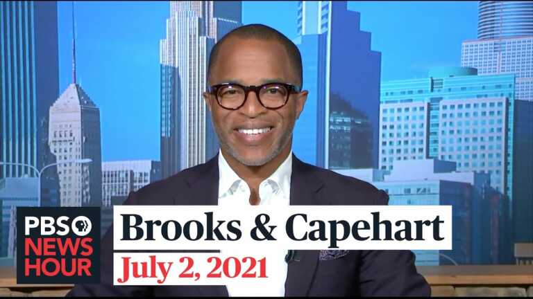 Brooks and Capehart on Trump Org indictments, Supreme Court ruling on Arizona voting laws