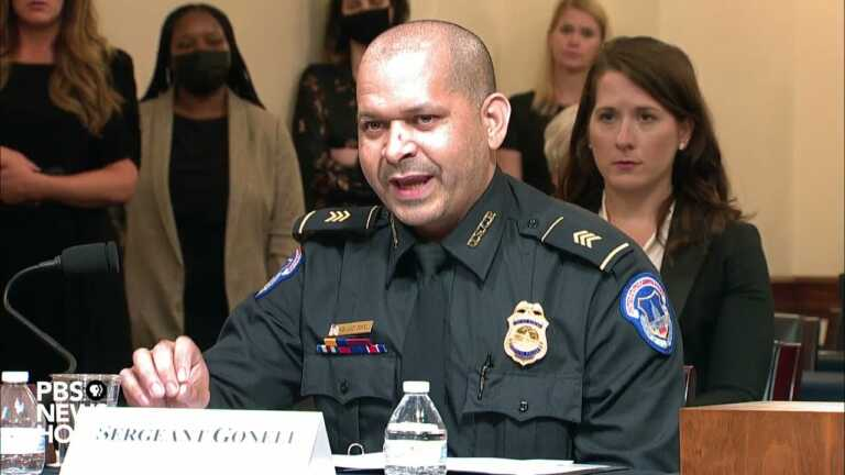 WATCH: Capitol Police Sgt. Aquilino Gonell testifies on what happened in the Jan. 6 attack
