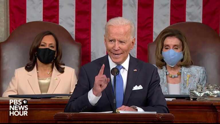 WATCH: 'We have to prove democracy still works,' Biden says | 2021 Biden address to Congress