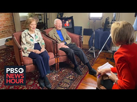 Jimmy and Rosalynn Carter reflect on 75 years of marriage, the state of America politics