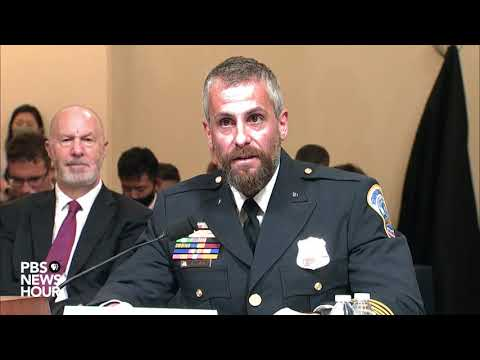WATCH: Officer Michael Fanone testifies on what happened in the Jan. 6 attack