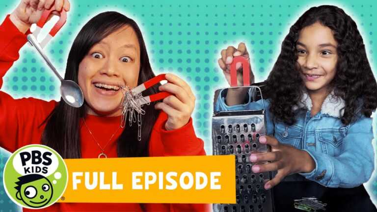 Mega Wow   What Makes Things Magnetic?   PBS KIDS