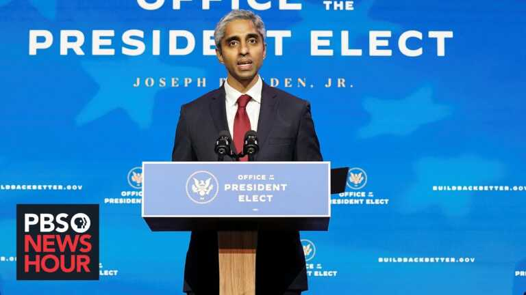 Dr. Vivek Murthy on new US inoculation strategy and distributing vaccines abroad
