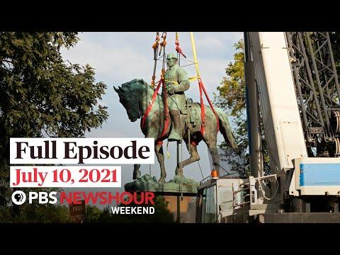 PBS NewsHour Weekend Full Show, July 10, 2021