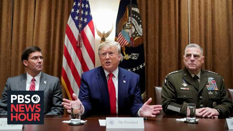 U.S. military leaders worried Trump might attempt a coup to stay in power, new book claims