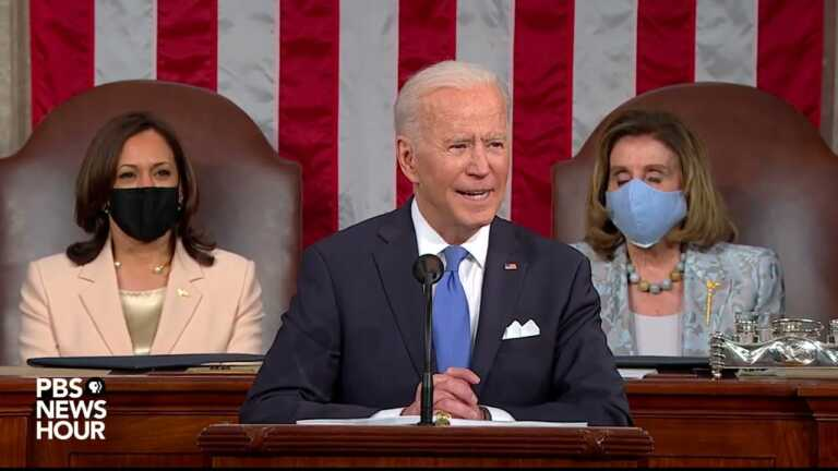 WATCH: Biden tackles 4 issues with American Families Plan | 2021 Biden address to Congress