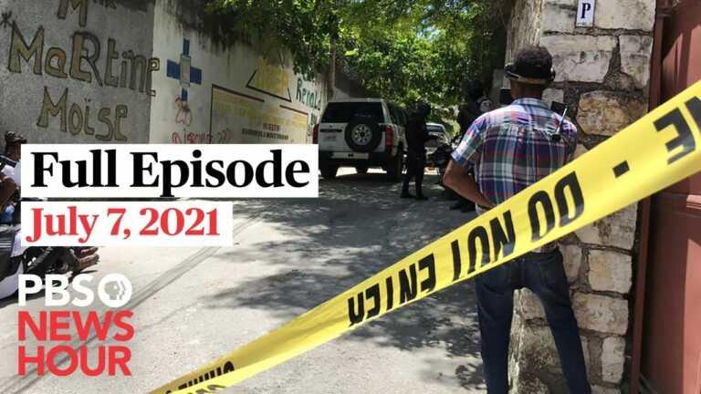 PBS NewsHour West live episode, July 7, 2021