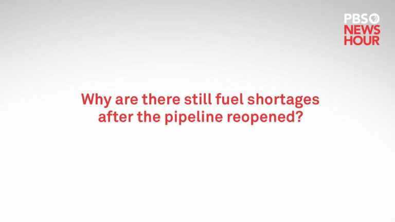 WATCH: Why are there still fuel shortages in the Southeast U.S.?