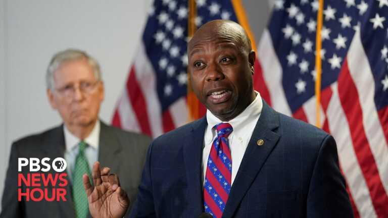 WATCH LIVE: Sen. Tim Scott delivers GOP response to Biden's address to Congress