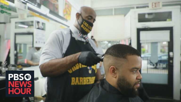 This Cleveland barbershop will give you a haircut, and a COVID-19 vaccine