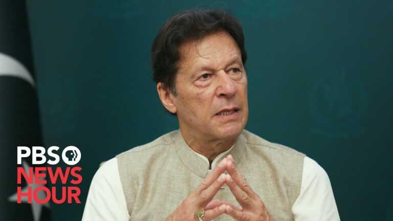 Pakistan's Imran Khan revisits his comments blaming women for the nation's rape crisis