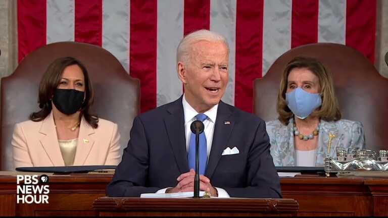 WATCH: 'Wall Street didn't build this country,' Biden says | 2021 Biden address to Congress