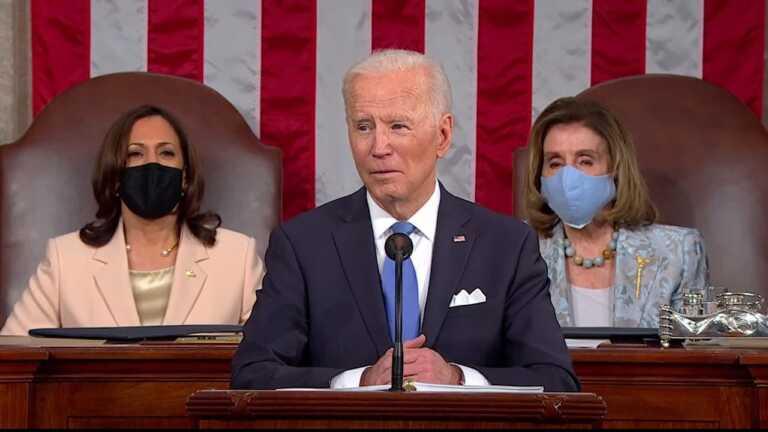 WATCH: Biden calls to 'end our exhausting war over immigration'   2021 Biden address to Congress