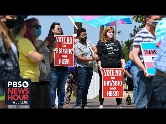 Pride: 2021 has set a record in anti-trans bills in America