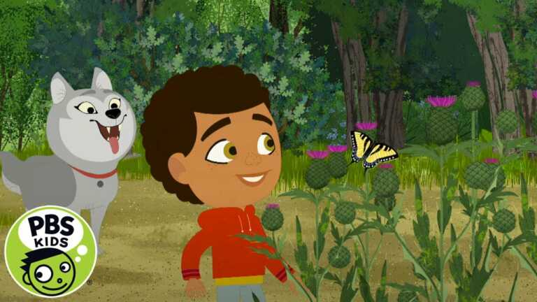 Through the Woods | Hiya Butterfly! | PBS KIDS