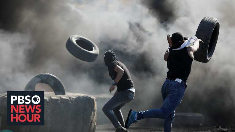 Palestinians strike to protest Israeli military action in Gaza, but no cease-fire in sight